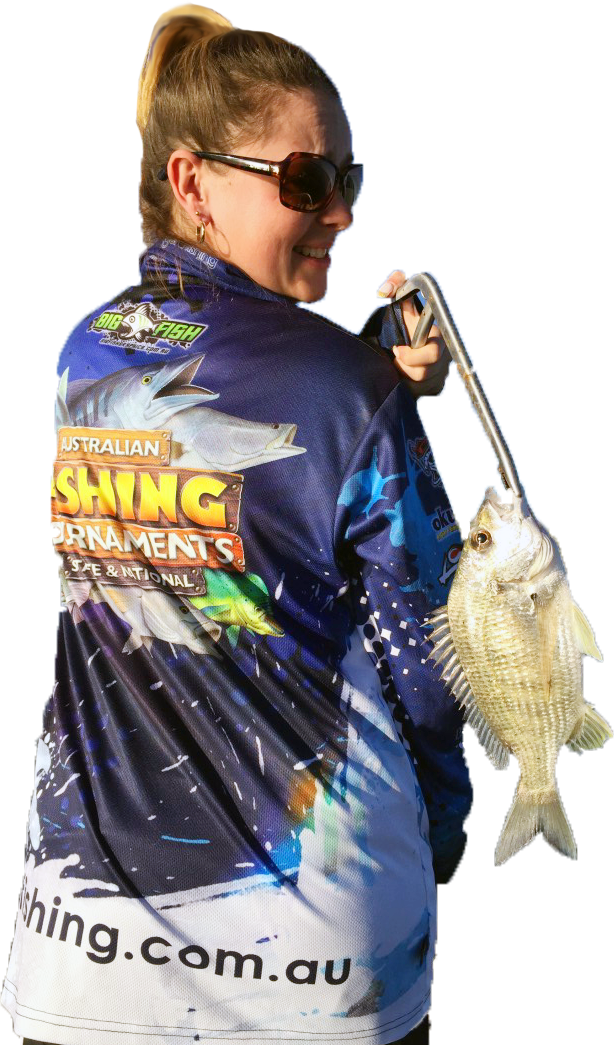 tournament fishing shirt by Jo Starling